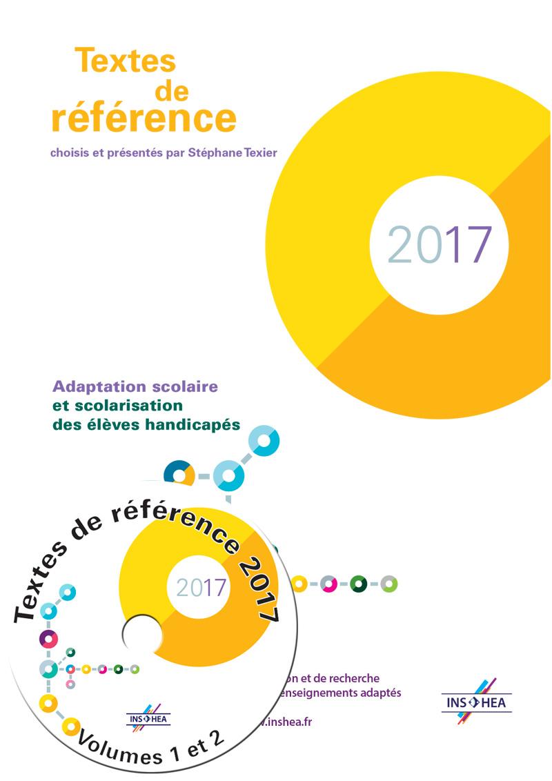 Jaquette du cédérom des Textes de références 2017
