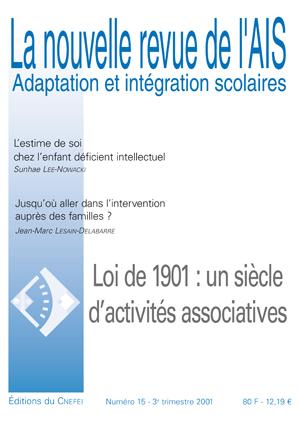 Couverture La nouvelle revue de l'AIS, n°15